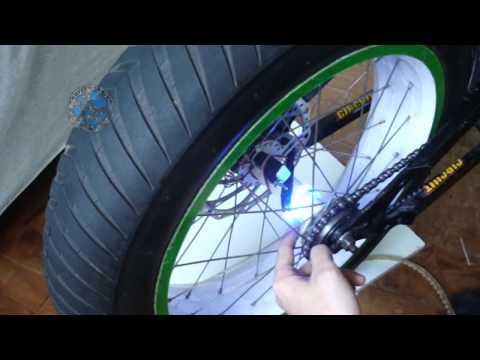 Projeto Tuning - Como colocar LED dentro da roda de moto ou bicicleta