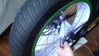 getlinkyoutube.com-Projeto Tuning - Como colocar LED dentro da roda de moto ou bicicleta