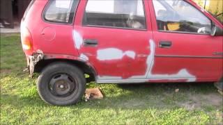 getlinkyoutube.com-Opel Corsa B skorodowane nadwozie