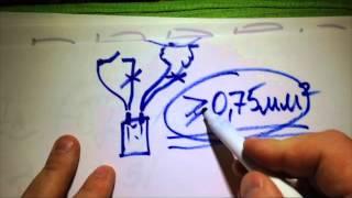 """getlinkyoutube.com-Видеоответ для сообщетсва """"тату машинки"""" на тему """"блок питания,клипкорд,педаль"""""""