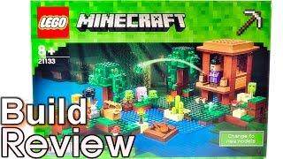 [생방송 Lego 조립 리뷰] 레고 마인크래프트 21133 마녀의 집 LEGO Minecraft The Witch Hut