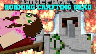 getlinkyoutube.com-Minecraft: BURNING CRAFTING DEAD! (HONEY BOO BOO, CARTER, & VALENTINE MUST BURN!) Mini-Game