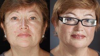 getlinkyoutube.com-Возрастной вечерний макияж. Секреты профессионального визажа. (Урок №20)