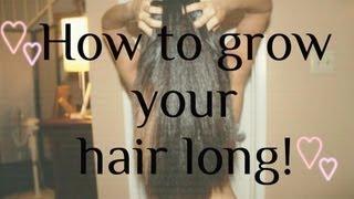 getlinkyoutube.com-My Hair Secret: How I Grew My Hair Long ♥