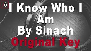 Sinach | I Know Who I Am Instrumental Music & Lyrics