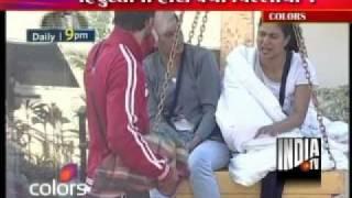 Veena Malik Crying In Big Boss 4