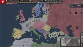 getlinkyoutube.com-Hearts of Iron 3 Timelapse - Europe 1938 - 1944