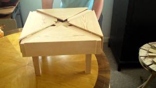 Expanding square table Part . 5