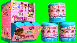 getlinkyoutube.com-HUGE 35 FASHEMS Doc McStuffins Complete Collection FULL CASE Unboxing Toys Surprise of Squishy Toys