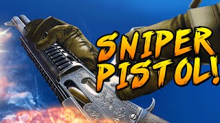 getlinkyoutube.com-SNIPER PISTOL! - Battlefield 4 New Weapon