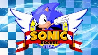 getlinkyoutube.com-Sonic The Hedgehog Rocket - Walkthrough