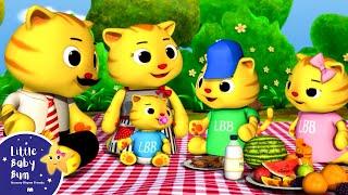 getlinkyoutube.com-Finger Family - Cat Family | Nursery Rhymes | by LittleBabyBum!