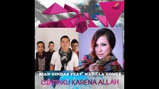 CINTAKU KARENA ALLAH - BIAN GINDAS FT NABILLA G  karaoke download ( tanpa vokal ) cover