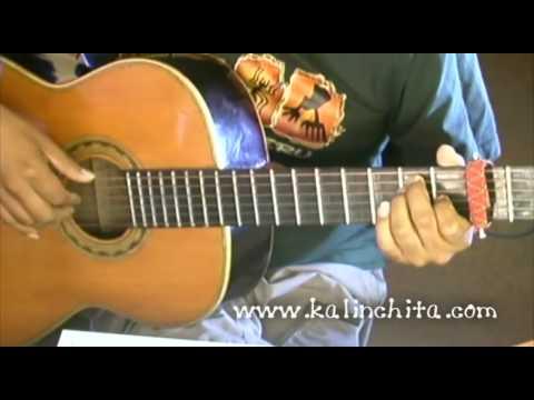 Completamente enamorados - Chayanne - Como tocar guitarra acordes