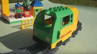 getlinkyoutube.com-Trains for kids - Zug - Trenes infantiles - Toy cars