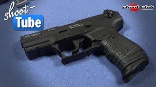 getlinkyoutube.com-Walther P22 Schreckschuss Pistole - shoot-club Review