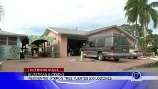 Investigan incendio en Fort Myers Beach