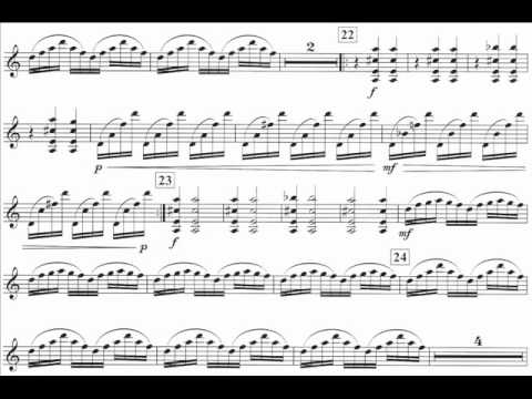 Glass, Philip mvt3 violin concerto