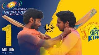 Fight Between CSK & Mumbai Fans