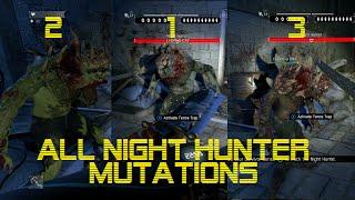 Dying Light ALL Night Hunter Mutations SHOWCASE