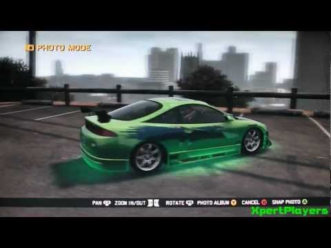 Midnight Club Los Angeles - The Fast and the Furious-Cars