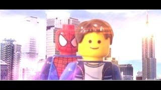 getlinkyoutube.com-The Vigilant Lego Spider-Man: (Part 1)