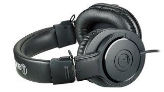 getlinkyoutube.com-Audio Technica ATH-M20x - Best Headphones Under $50