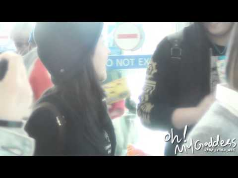 [FANCAM] 121018 incheon Airport - preview (DARA ver)