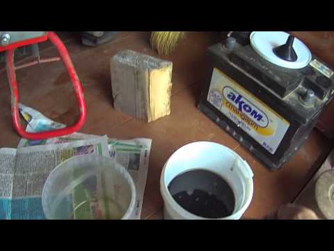 Замена масла с двигателя мотоблока
