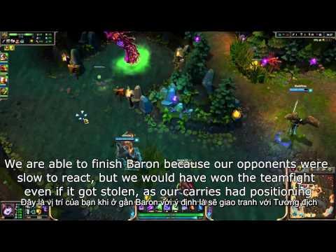 Hướng dẫn LMHT: Cẩm nang ăn Baron