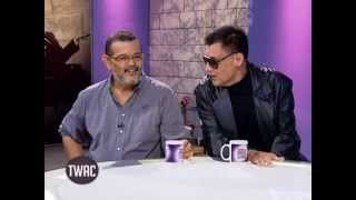 Rez Cortez and John Regala: evil on screen but good men in real life   Tonight with Arnold Clavio width=