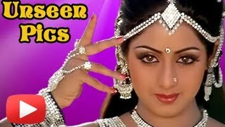 Sridevi - Cute Sexy Unseen Pics - From Childhood Till Now