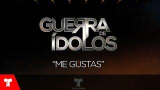 Guerra de Ídolos | Me Gustas (Audio) by Alex Brizuela/ Maria León | Telemundo Novelas