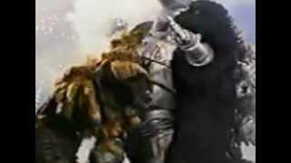 getlinkyoutube.com-Godzilla and King Cesar vs Mechagodzilla (1974)