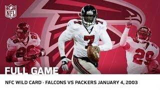 getlinkyoutube.com-Michael Vick's Historic Upset   Falcons vs. Packers 2002 NFC Wild Card Playoffs   NFL Full Game