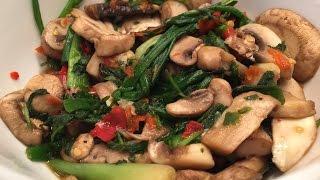 getlinkyoutube.com-Hmong Mushroom Pepper Recipe