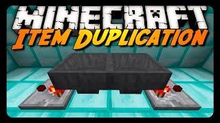 getlinkyoutube.com-Minecraft: ITEM DUPLICATION BUG! (1.7 & 14w03b)