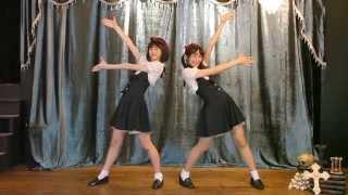 getlinkyoutube.com-【まなこ×やっこ】骸骨楽団とリリア 踊ってみた【オリジナル振付】