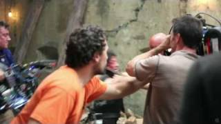 The Expendables   Behind The Scenes Pt. 4 Of 5 Fighting