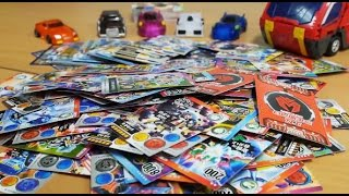 getlinkyoutube.com-터닝메카드 카드 장난감 놀이 TCG 골드 ver. 변신 자동차 [대문밖장난감]