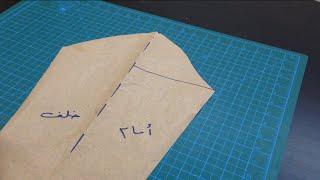 getlinkyoutube.com-12/ أسهل طريقة لرسم بترون الكم Easy sleevesPattern