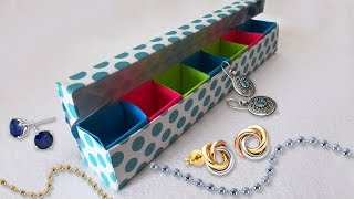 getlinkyoutube.com-DIY Paper Crafts : Origami Jewelery Box Tutorial | Cool DIY Projects