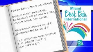 No se pierda la Feria del Libro en Miami