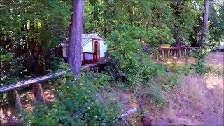 getlinkyoutube.com-World Record Longest Backyard Railroad Trestle