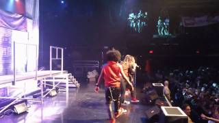 Ciara &amp; Mindless Behavior en live &agrave; Boston