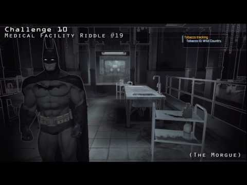 Batman Arkham Asylum - Medical Facility Riddler's Challenges