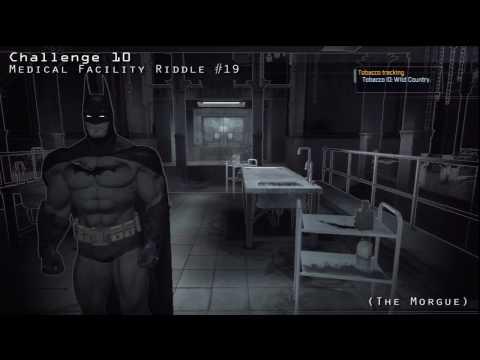 Batman Arkham Asylum - Medical Facility Riddler's Challenges