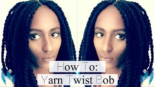 getlinkyoutube.com-How To: Yarn Twist Bob