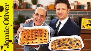 getlinkyoutube.com-How To Make Focaccia | Jamie & Gennaro