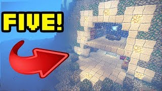 getlinkyoutube.com-Minecraft: 5 Amazing Underwater House/Base Turorials